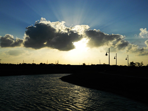 sunset sun beautiful clouds sunrays beautifulsky texassky