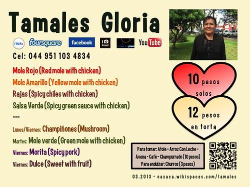 Tamales Gloria