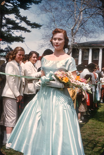 Marge Jenkins, May Court 1956, Allegheny College, Meadville, PA