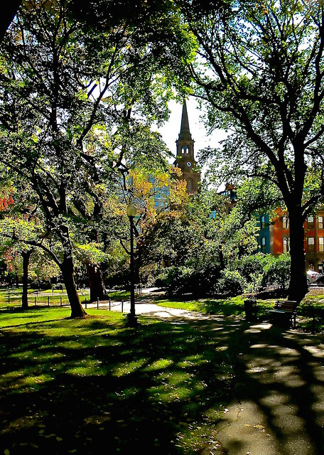 Boston Common - Boston, Nikon COOLPIX L100