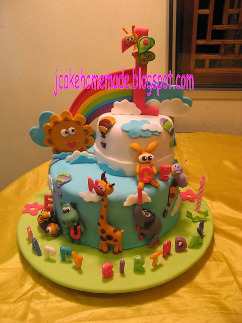 Baby Tv Draco Cake
