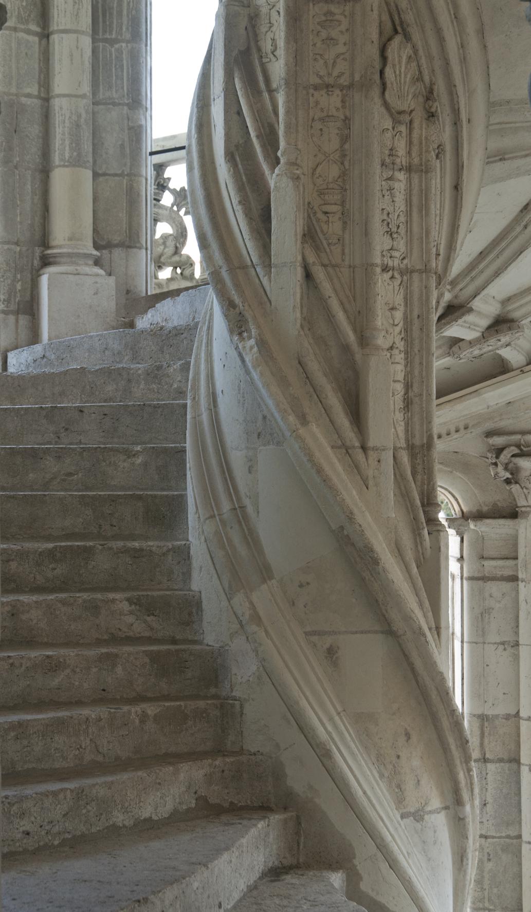 chateau de blois l escalier flickr photo