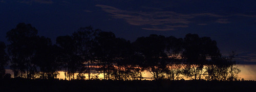 africa sunset sky mozambique zambezia