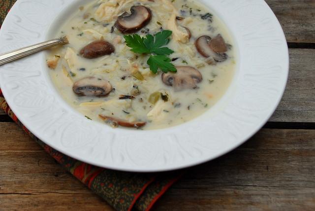 Chicken Mushroom Wild Rice Soup 1 | Flickr - Photo Sharing!