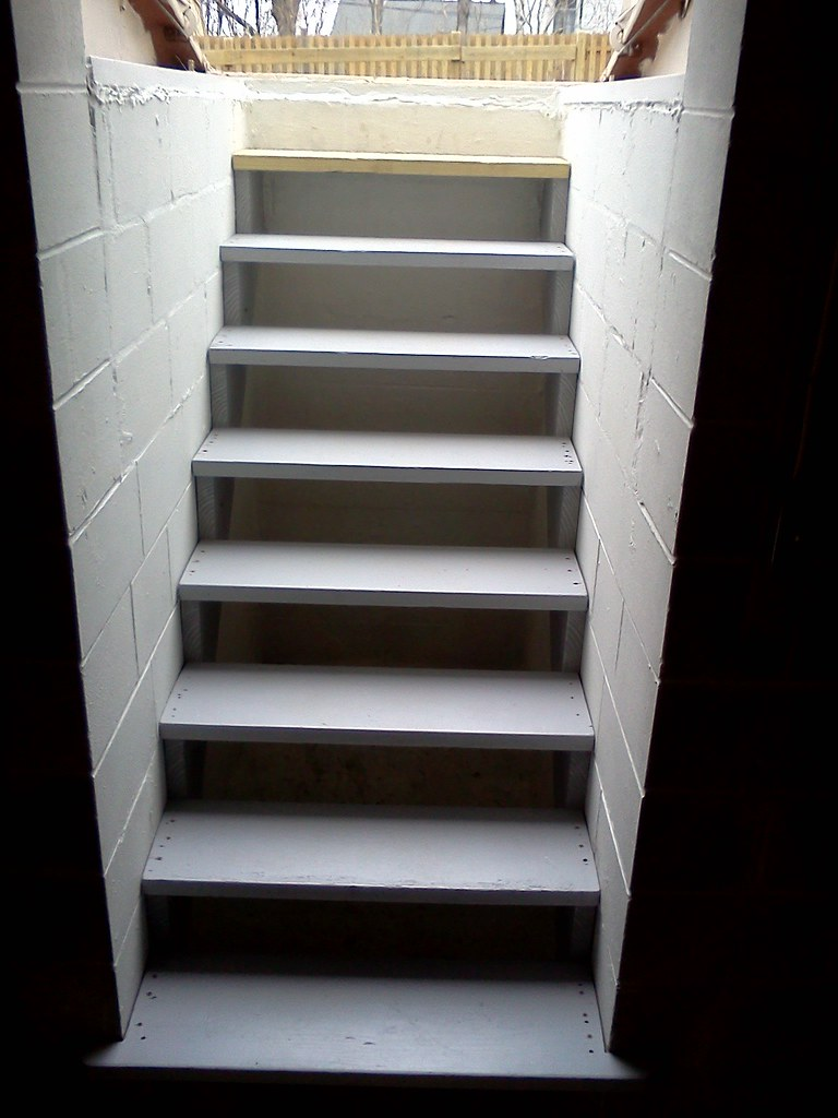 Completed Bilco Stairs (looking Up) | Paul Wolke | Flickr