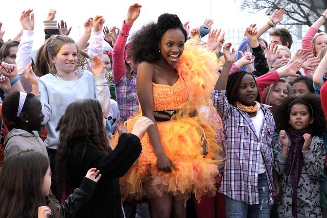 Stella Mwangi vant den norske finalen i Melodi Grand Prix i 2011