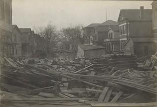 Montgomery Street, Dayton, OH - 1913 Flood