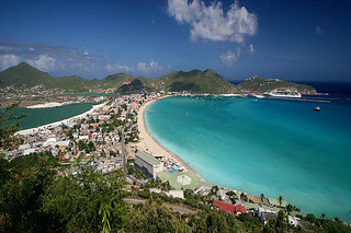 Philipsburg from above I