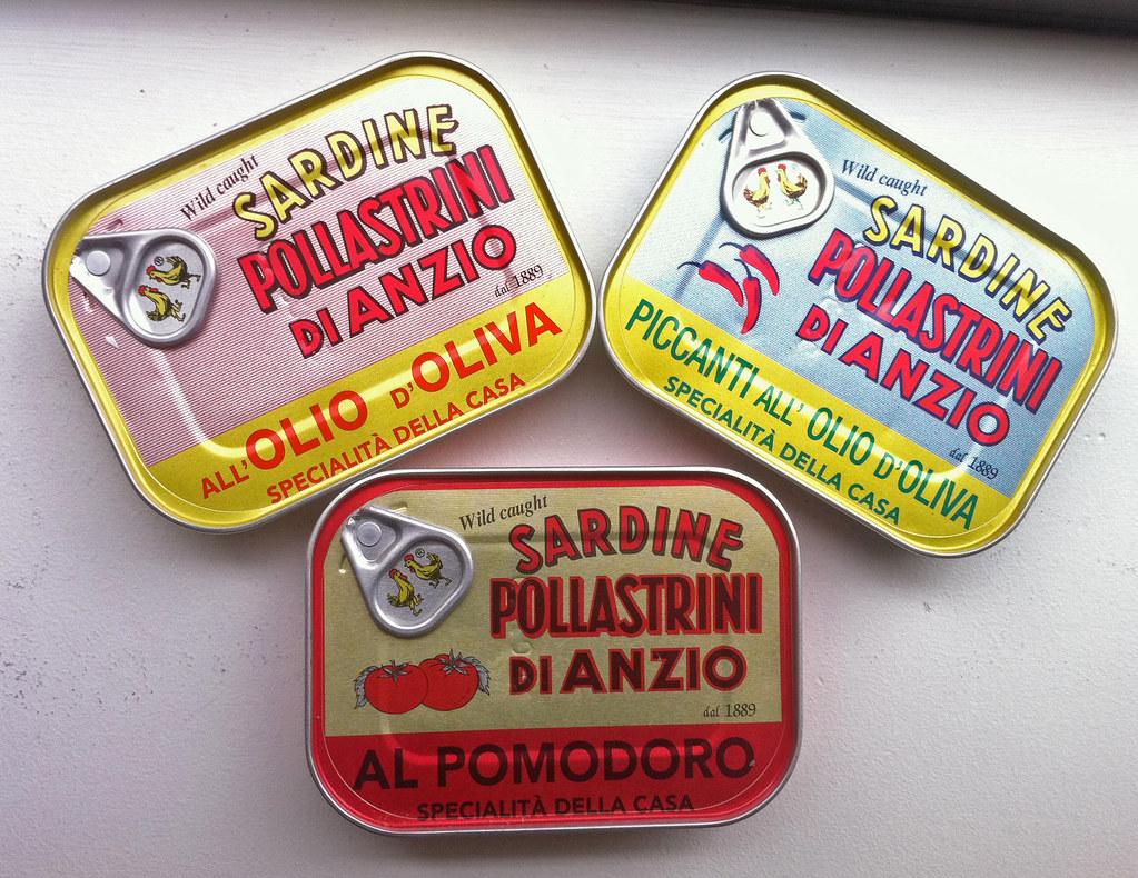 My favorite sardines