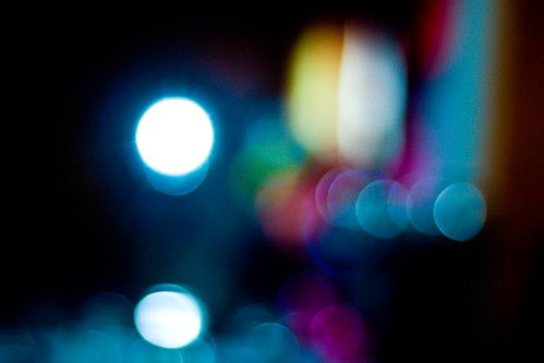 midnight bokeh