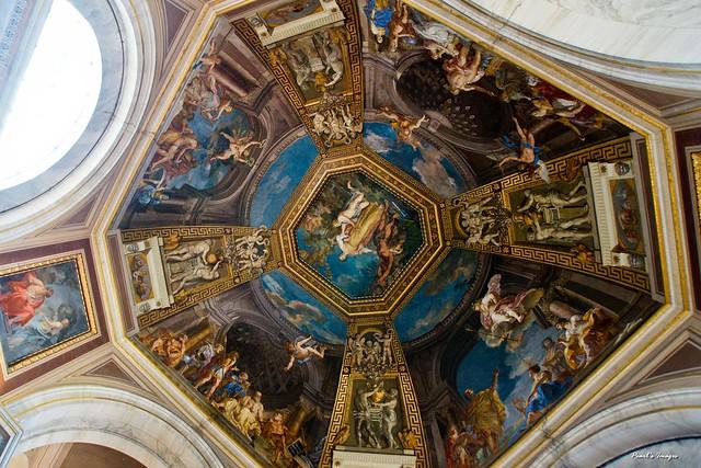 梵諦岡 博物館 天花板