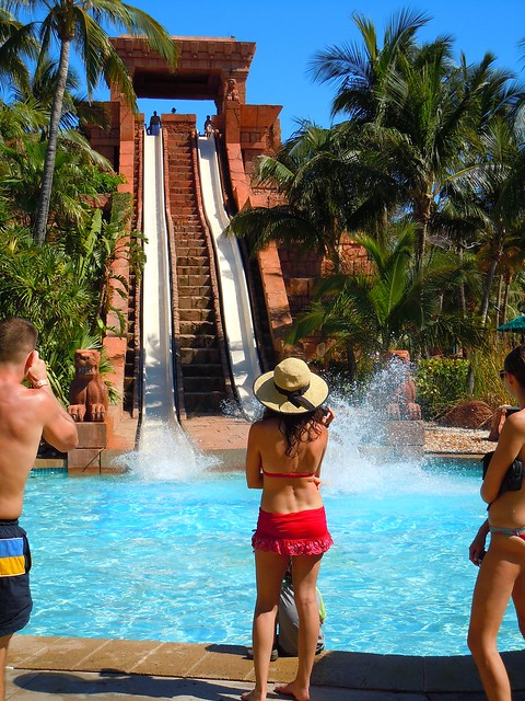 AquaVenture - Challenger water slide - Atlantis Resort