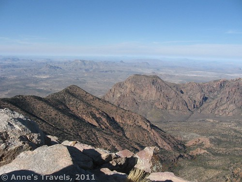 The view from Emory Peak, Big Bend National Park, Texas