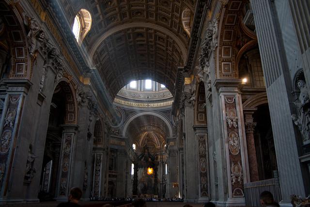 Basilique saint pierre flickr photo sharing for Exterieur basilique saint pierre