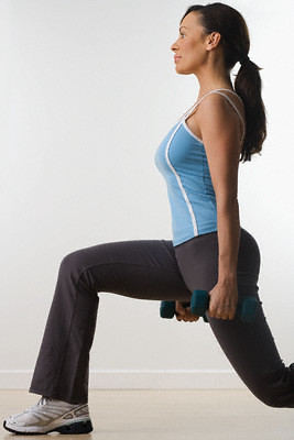 Lunges Burn Fat