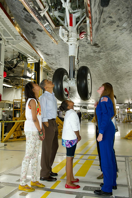 President Barack Obama Visit to Kennedy Space Center (201104290020HQ)