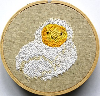 Embroidery egg