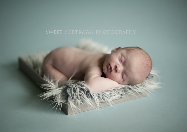 Calming Blue - Newborn Kids Photography