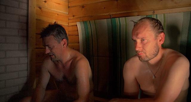 Naked Men In Sauna