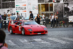 race car(1.0), automobile(1.0), vehicle(1.0), performance car(1.0), automotive design(1.0), ferrari f40(1.0), ferrari s.p.a.(1.0), land vehicle(1.0), luxury vehicle(1.0), supercar(1.0), sports car(1.0),