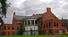 Norristown State Hospital: back view of Building 17.