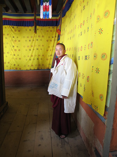 Monk, Thimphu, Bhutan