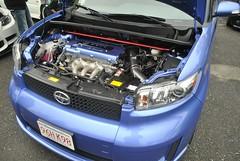 automobile(1.0), automotive exterior(1.0), vehicle(1.0), scion(1.0), bumper(1.0), land vehicle(1.0),