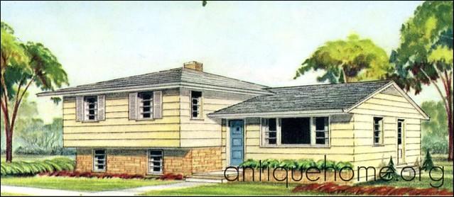 The Split Level House Plan Flickr Photo Sharing