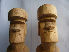 carving, art, wood, sculpture, tiki,