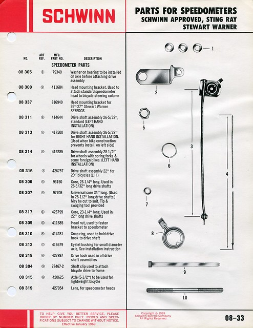 Schwinn Stingray Parts Catalog : Schwinn parts accessories catalog flickr