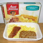 Aunt Jemima Scrambled Eggs and Bacon with Hash Brown Potatoes