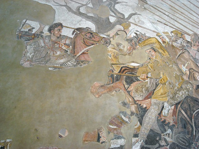 darius iii analysis of battles The alexander mosaic - revealed  it depicts a battle between the armies of alexander the great and darius iii of persia and measures 582 x 313m.