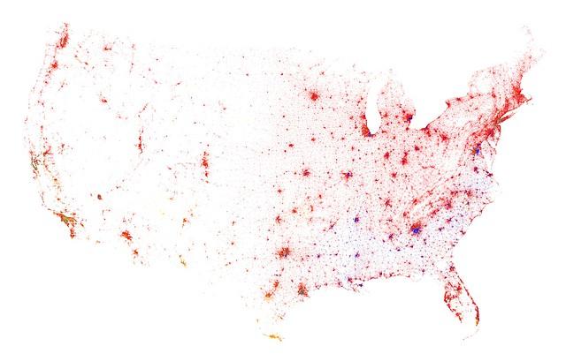 Contiguous United States, Census 2010