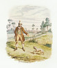 Cruikshank, Watercolours Sikes Attempting to Destroy His Dog