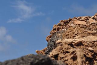 Playa de Janubio の画像. blue sky cloud black rock lanzarote pumice salinasdeljanubio playadejanubio
