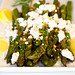 Grilled Asparagus with Lemon and Goat Cheese
