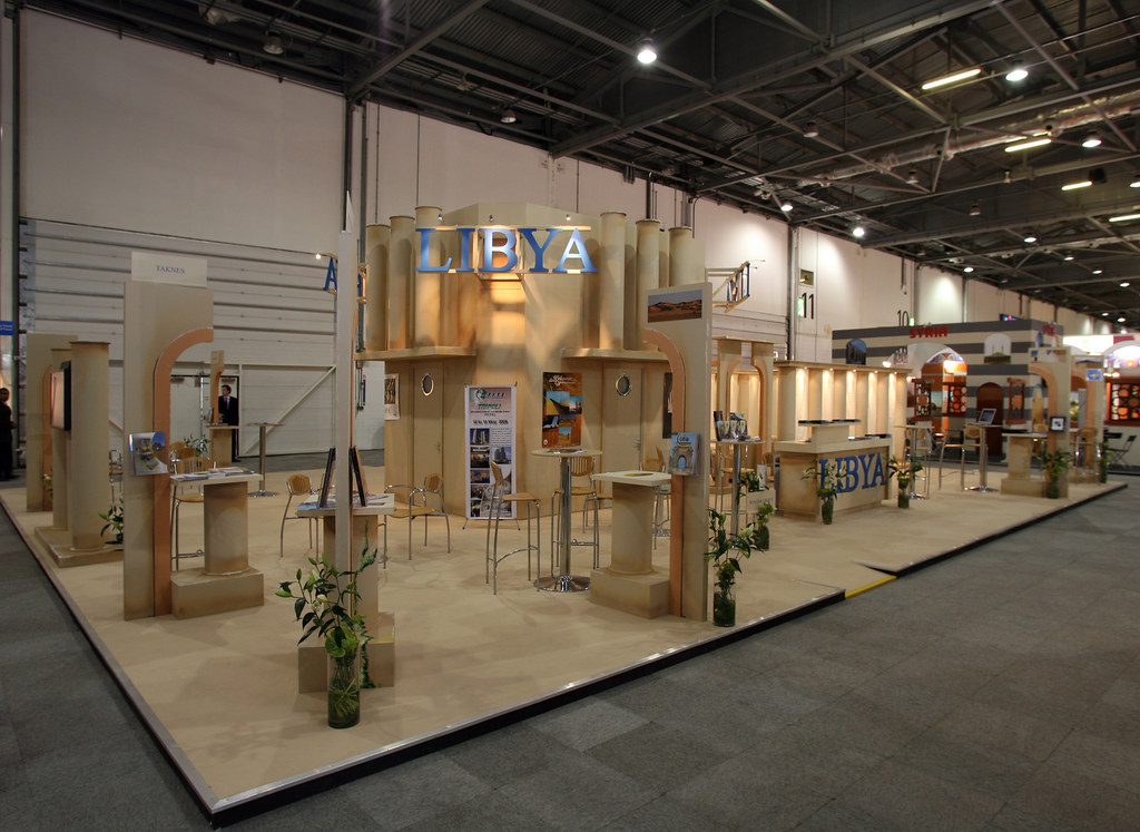 Custom Built Exhibition Stands Uk : Libya custom built exhibition stand custom exhibition stanu flickr