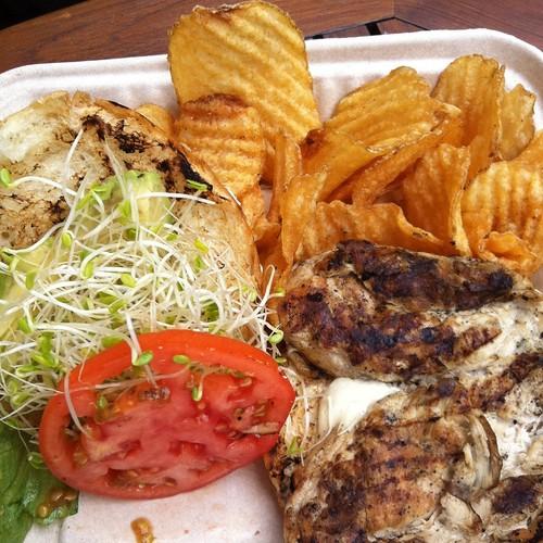 Chicken Sandwich @ Pailolo Bar And Grill, Westin Kaanapali Ocean Villas
