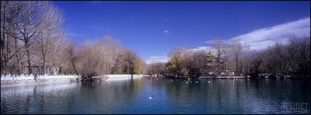 The Park Behind Potala Palace