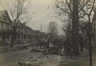 Flood Debris, Dayton, OH - 1913 Flood