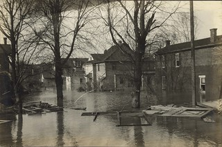Residential Area, Dayton, OH - 1913 Flood
