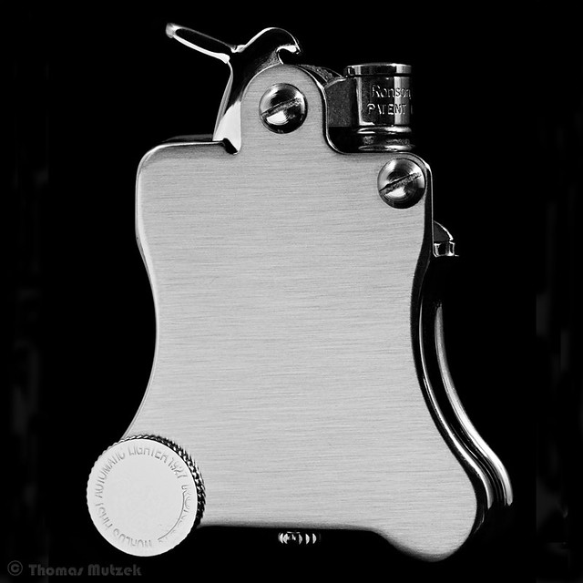 Ronson Banjo Pocket Lighter