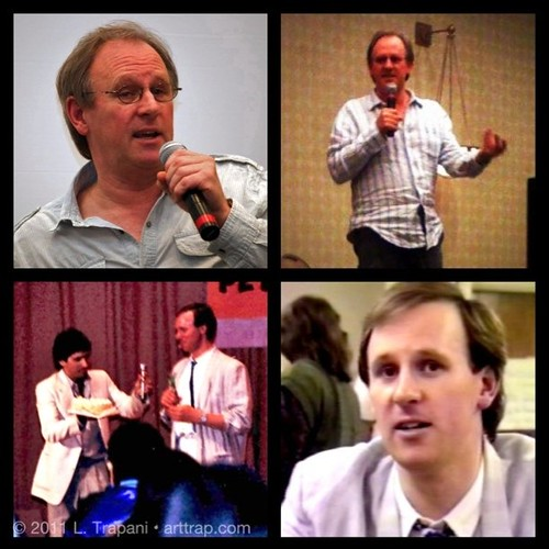 Happy 60th Birthday, Peter Davison, the 5th Doctor on Doctor Who! Included in these photos I took through the years is one from his 34th birthday.