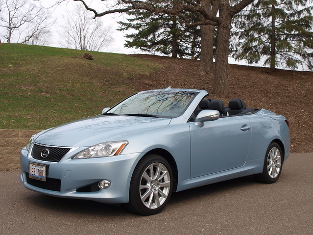 2011 Lexus IS 250C 2