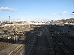 View from Stasjonsinngang Øst