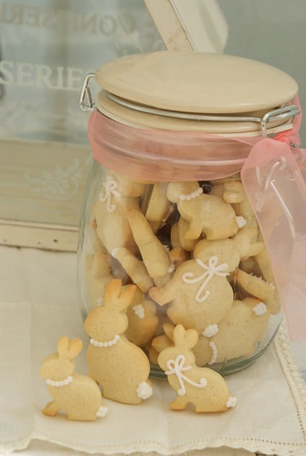 Mini Bunny Cookies