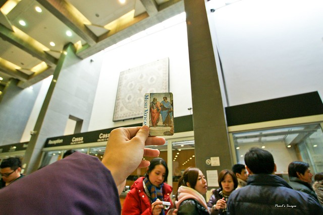 梵諦岡博物館的門票