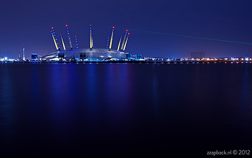Blue O2 / North Greenwich / London