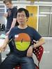 Sukkin's cute rabbit t-shirt by Rain Rabbit