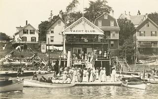 Yacht club circa 1900